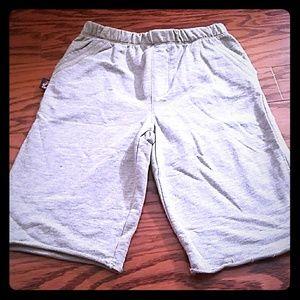 Charlie Rocket Gray Athletic Lounge Shorts 7